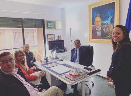 GLC visita consulado Dominicano en Valencia