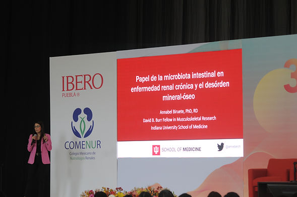 Dra. Annabel Biruete. Microbiota y DMO.J