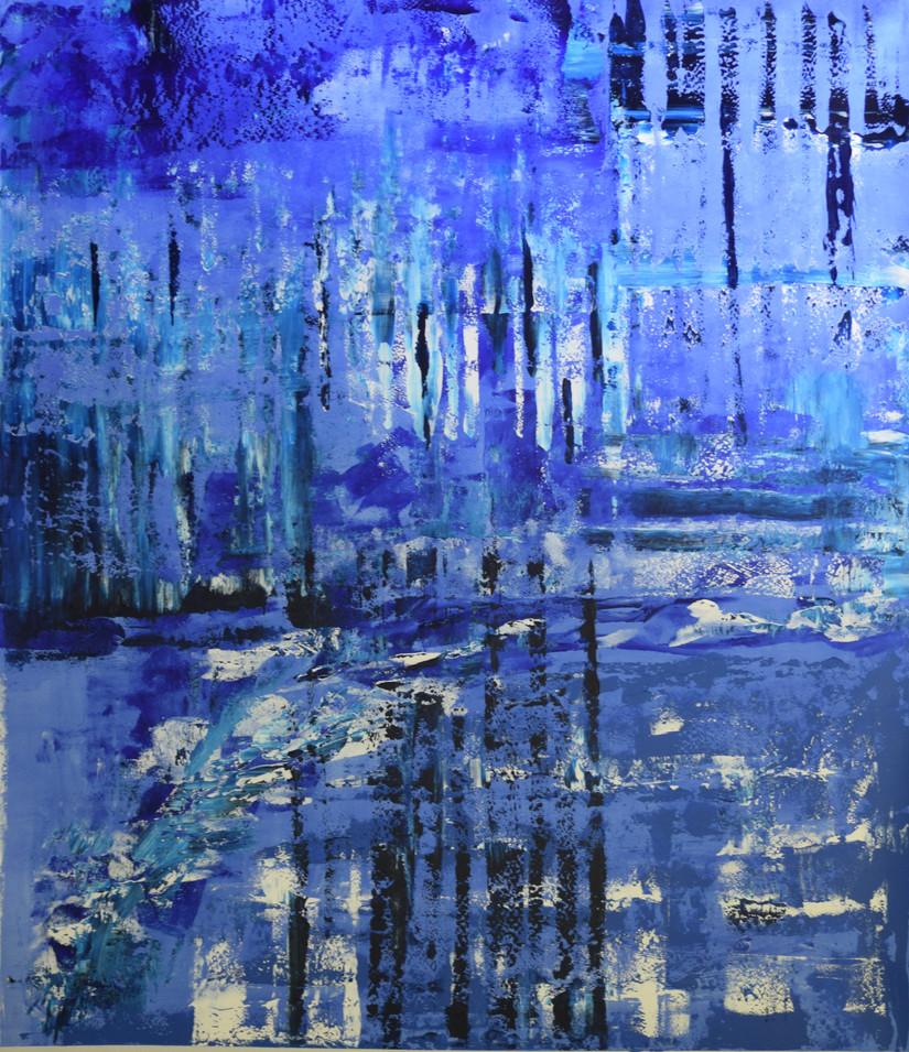 Blue Ice 170cm(h) x 140cm(w)