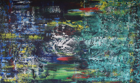 Fishes in the Water 150cm(w) x 90cm(h)