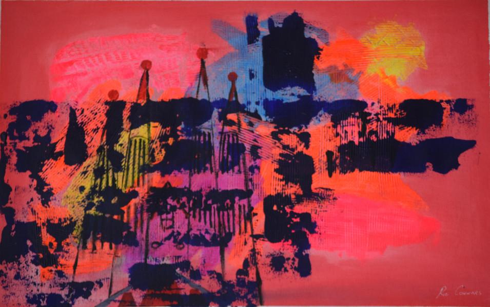 Sagrada Familia 39cm(h) x 61cm(w)