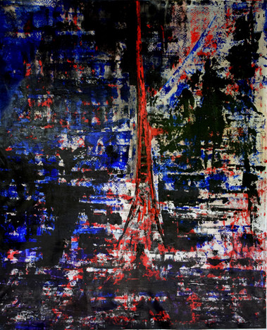 Paris In Chaos 170cm(h) x 138cm(w)