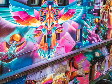 BRISBANE STREET ART FESTIVAL (BSAF) IS A CITY WIDE OUTDOOR ART FESTIVAL RETURNING MAY 4 - 19