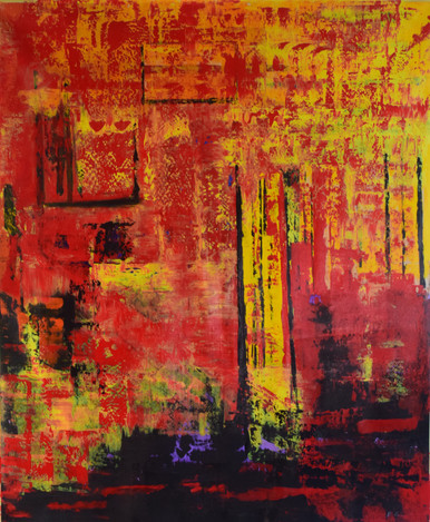 Changing Climate 170cm(h) x 135cm(w)