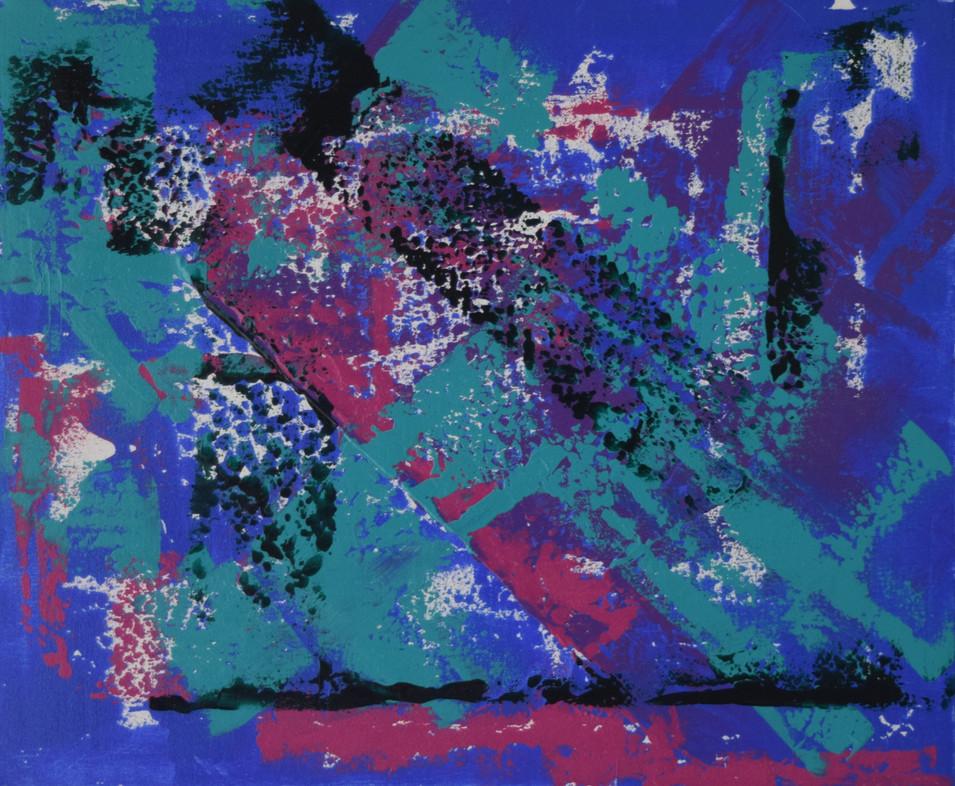 Blue Dimensions 50cm(h) x 60cm(w)