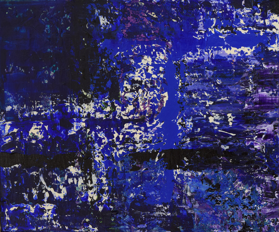 Deep Blue 50cm(h) x 60cm(w)