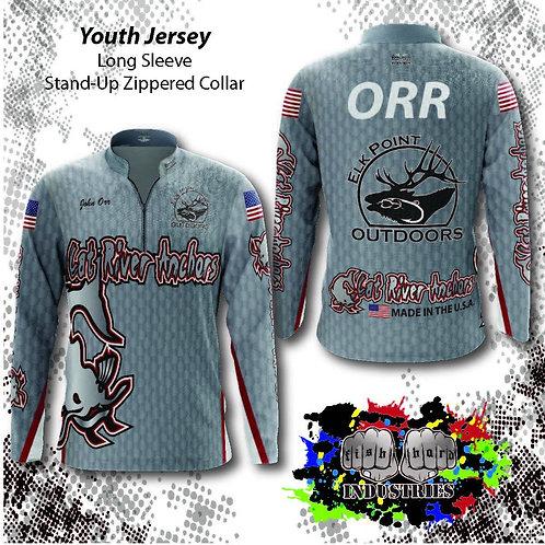 Youth-Stock Background Jerseys (Long  Sleeve) YS-YXL