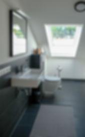Badezimmer, Gästebad, Kontraste, Badplanung, Inneneinrichtung, Schöner Wohnen, Bauberatung