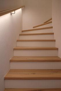 Beleuchtung im Treppenhau