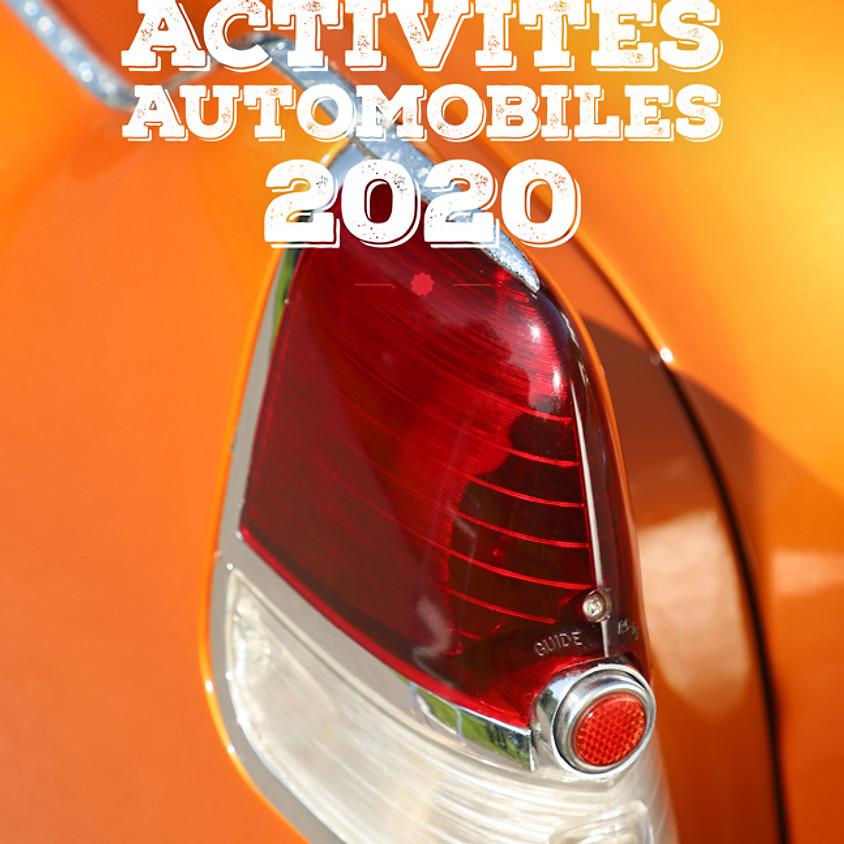Calendrier des événements automobiles 2020