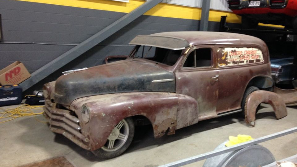 Chevrolet Fleetmaster sedan delivery 1947