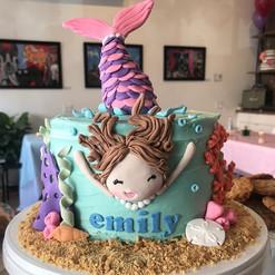 Let's be mermaids! Happy Birthday Emily!