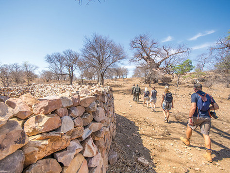 """Thulamela in Kruger Park, a """"technologically sophisticated community who had trade links with t"""