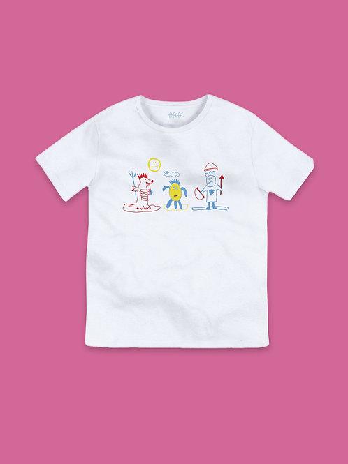Camiseta Mostrinhes - criança