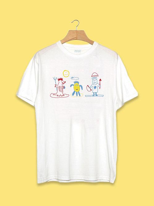Camiseta Mostrin