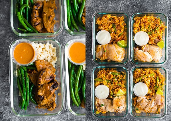 15 Minutes Low Carb Meal Prep Recipe for Weight Loss