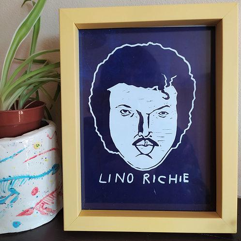 Lino Richie Print