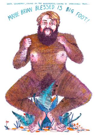 Elena_Hayward_Brian_Blessed_Bigfoot