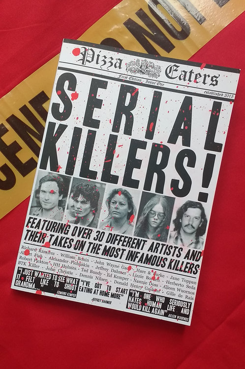 Pizza Eaters: Serial Killers Book