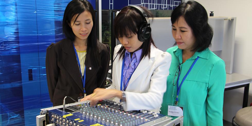 Operating Audio Video Public Address (AVPA) System