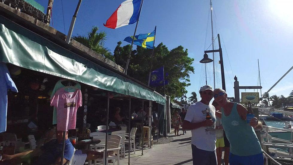 Schooner Wharf Bar Key West Stock Video