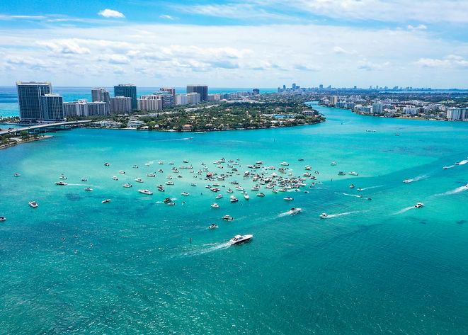 Miami Aerial Time-Lapse Photography