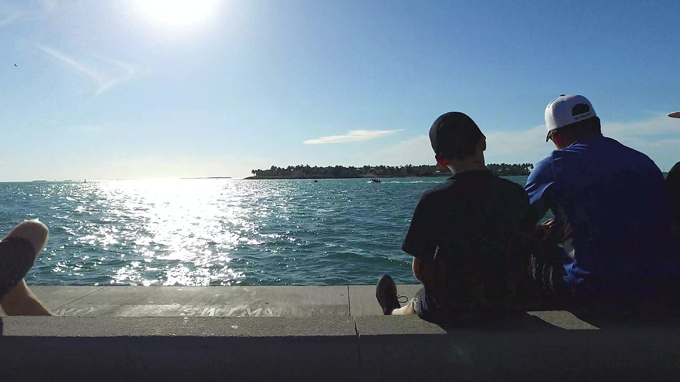 Mallory Square Dock Key West Stock Video