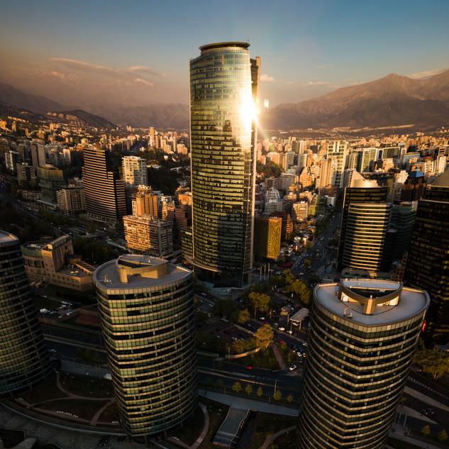 Santiago drone photography