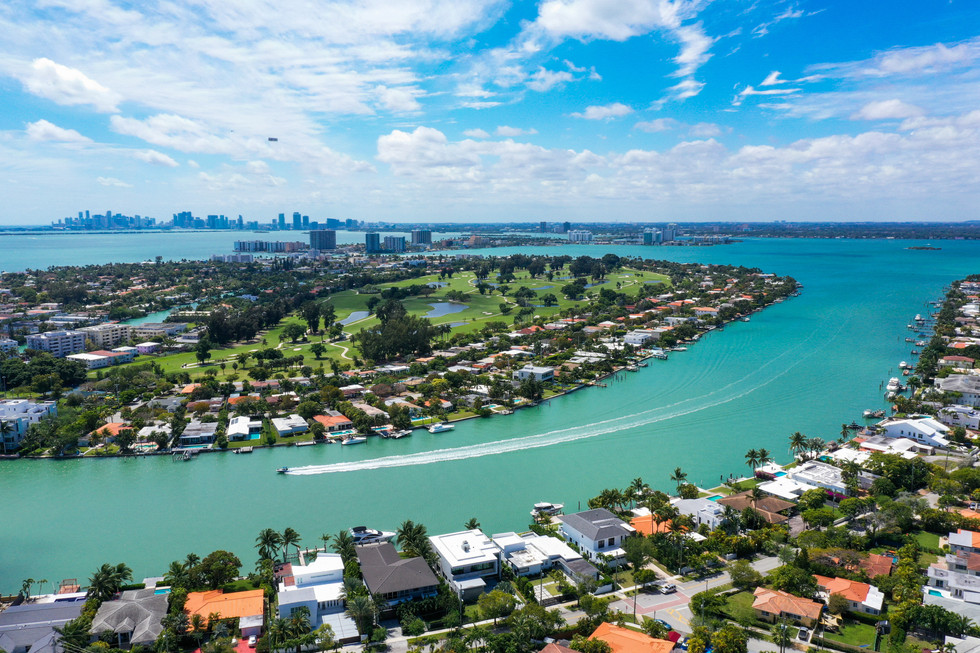 Miami drone photography