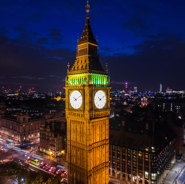 london drone photography
