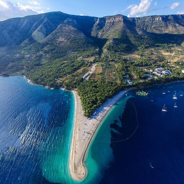 Croatia Aerial Landscape