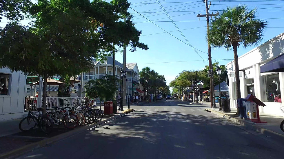 Duval Street Key West Stock Video