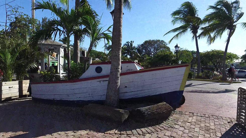 Sailboat Art Key West Stock Video