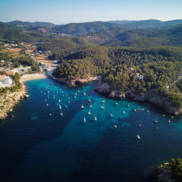 Ibiza Aerial Landscape