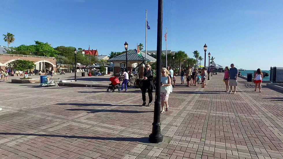 Mallory Square Key West Stock Video
