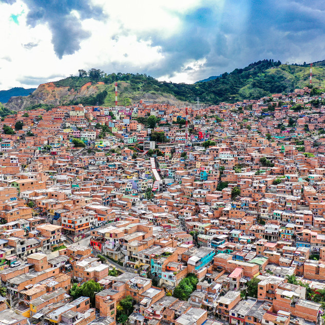 colombia drone photography