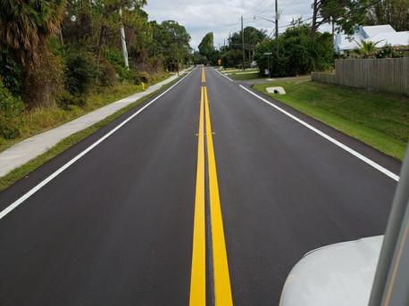 Florida Road Striping Services