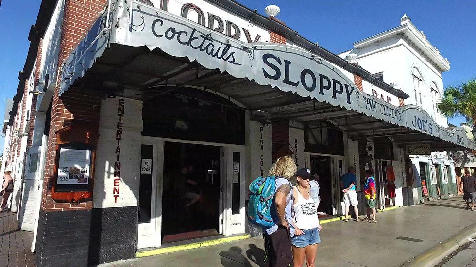Sloppy Joes Key West Stock Video