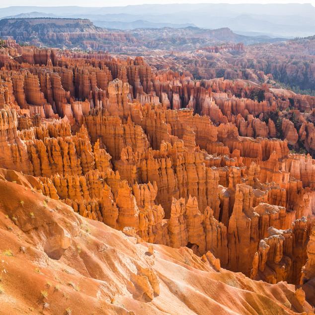 Brice Canyon Landscape