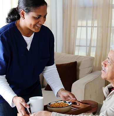 Meal preparation, home care.