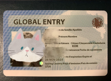 Global Entry Application - First Thing You Do When You Get Your Green Card