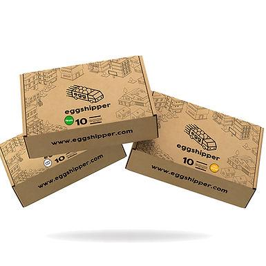 EGGSHIPPER by Safegg™️ - Starter Pack (Pasteurized Chicken Eggs Combo)