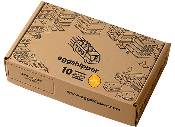 EGGSHIPPER by Safegg™️ - Classic Pasteurized Chicken Eggs 10-pc