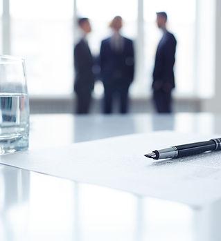réunion d'affaires
