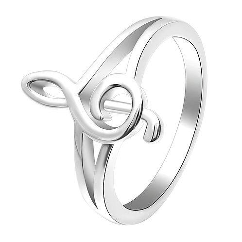Treble Clef Ring