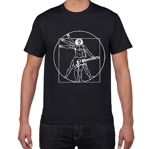 Da Vinci Guitar T-Shirt