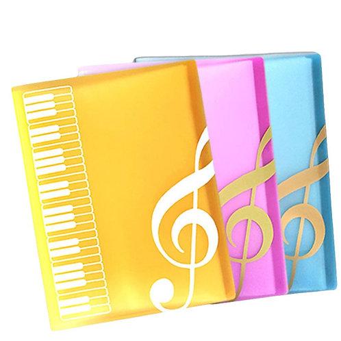 A4 Music Folder