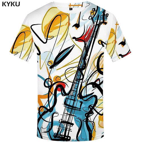 Guitar Graffiti T-Shirt