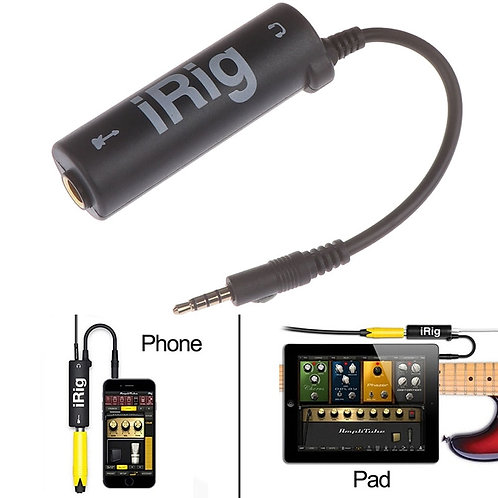 Guitar Interface I-Rig Converter for Phone