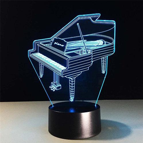 USB LED Lamp 7 Colors Piano